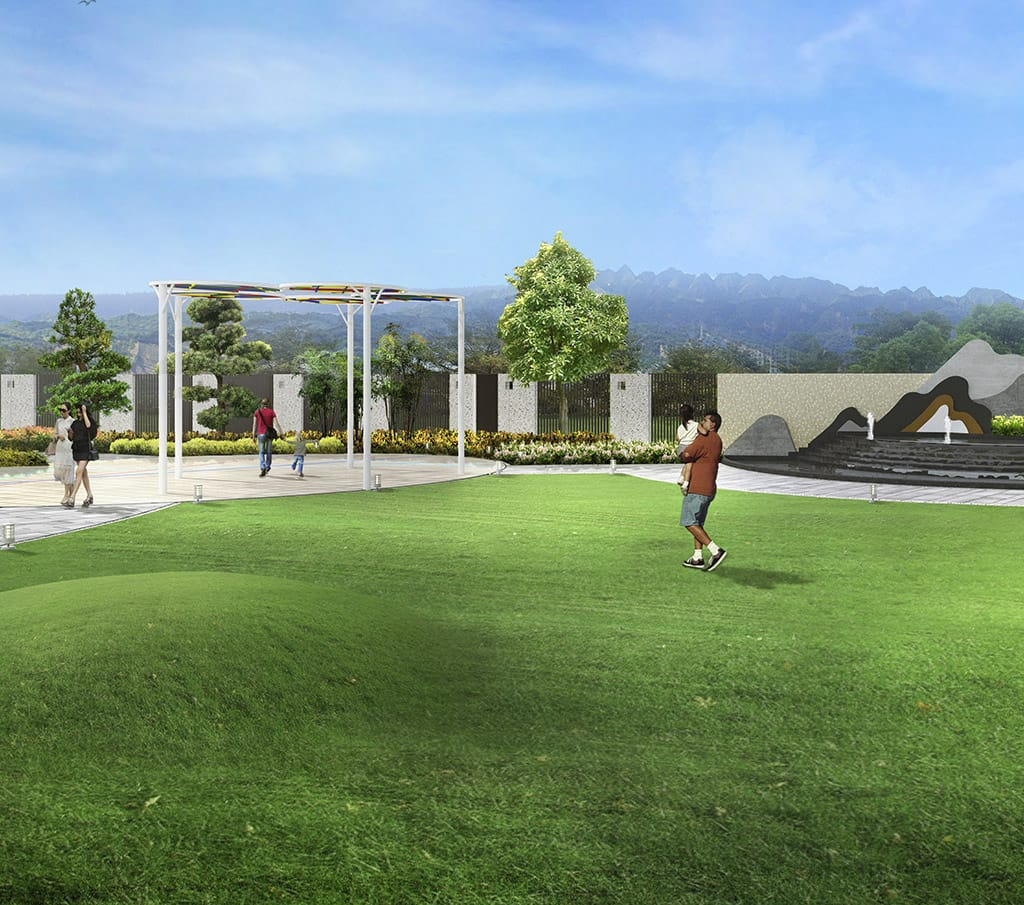 潤冬_花園景觀--久樘開發-草屯新案-2600坪泳池莊園 2-3房 精裝修度假宅